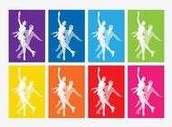 Link toIce skating posters vector free
