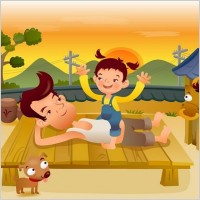 Link toIclickart cartoon illustration vector 17 family