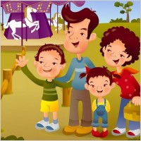 Link toIclickart cartoon illustration vector 8 family