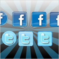 Link toIconos twitter & facebook