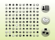 Link toIcons buttons graphics vector free