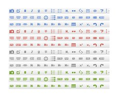 Link toIcons for text editor