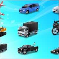 Link toIcons-land transport vector icons