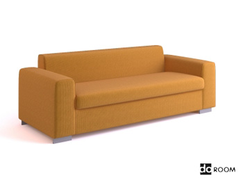 Link toIkea style multiplayer sofa 3d model