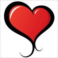 Link toIllustrated vector heart