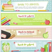Link toIllustration style of education theme banner design template vector 4