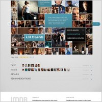 Link toImdb movie page free psd