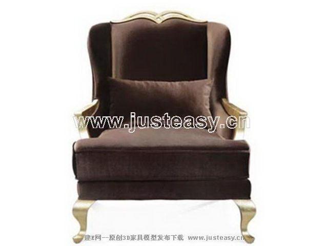 Link toImitation of european home sofa 3d model (including materials)