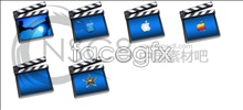 Imovie movie icons