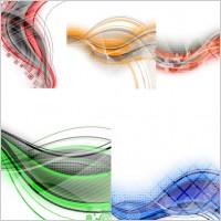 Link toIn particular the dynamic lines of the background vector 1