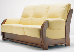 Link toInclined backrest wood base multiplayer cloth art sofa 3d models (including material)