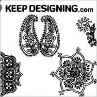 Link toIndian henna design