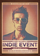 Link toIndie event flyer/poster psd template