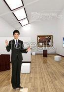 Link toIndoor business career people psd