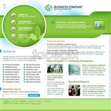 Link toIndustry in europe and america web page templates psd