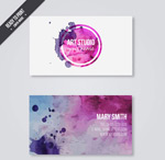 Link toInk business cards vector