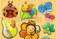 Link toInsect cartoon vector