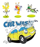 Link toInsects and car vector