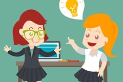 Link toInspiring business women vector illustration