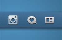 Link toInstagram icons psd