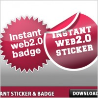 Link toInstant sticker and badge psd