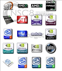 Intel series icons