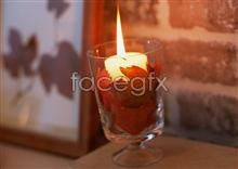 Link topictures candles glass Interior
