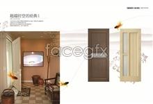 Link toInterior wood doors album psd