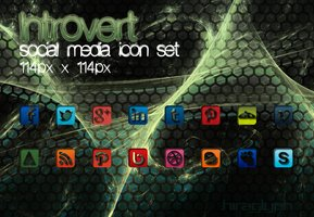 Link toIntrovert 114 - social media icon set