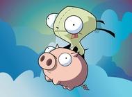 Link toInvader zim cartoons vector free