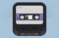 Link toIos retro cassette icon psd