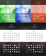 Link toIos7 flat design icons vector