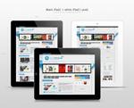 Link toIpad2 tablet psd