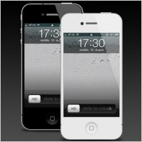 Link toIphone 4 psd template