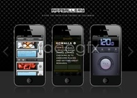 Link toIphone app gallery psd