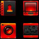 Iphone lighting icons