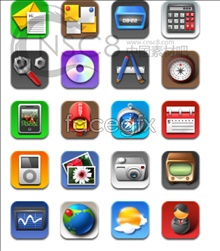 Link toIphone4 desktop icons