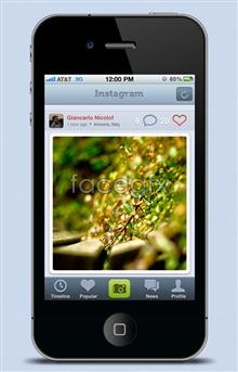 Link toIphone4 interface p psd