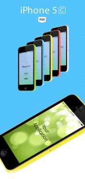 Iphone5c source file for free psd
