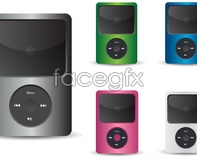 Link toelectronics vector icons Ipod