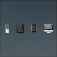 Link toIpod, ipad, iphone, and imac icons