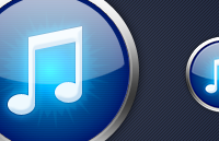 Link toItunes replacement icon psd