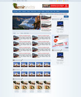 Link toIzmir sevdasi portal web interface design