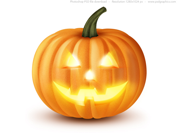 Link toJack o' lantern, halloween pumpkin icon (psd)