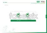 Link toJade beach building cardboard vector