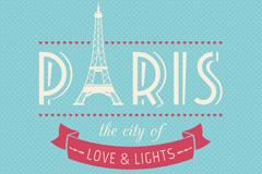 Link toJade paris poster retro water vector