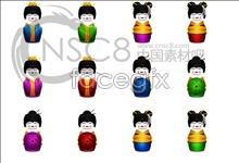 Link toJapan geisha beauty icons