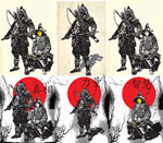 Link toJapan samurai paintings vector