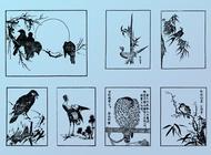 Link toJapanese birds vector free