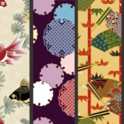 Link toJapanese decorative pattern background vector